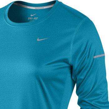 koszulka do biegania damska NIKE MILER LONGSLEEVE TOP / 519833-407