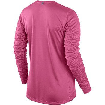 koszulka do biegania damska NIKE MILER LONGSLEEVE TOP / 519833-639