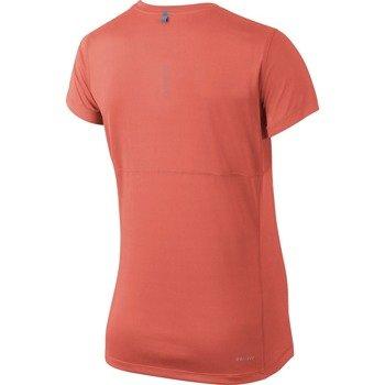 koszulka do biegania damska NIKE MILER SHORT SLEEVE / 686911-680