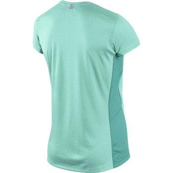 koszulka do biegania damska NIKE MILER SHORT SLEEVE CREW TOP / 519829-385