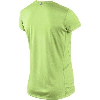 koszulka do biegania damska NIKE MILER SHORTSLEEVE CREW TOP / 519829-342
