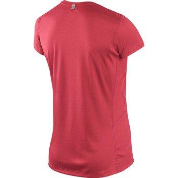 koszulka do biegania damska NIKE MILER SHORTSLEEVE CREW TOP / 519829-603