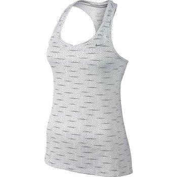 koszulka do biegania damska NIKE PRINTED MILER TANK / 644690-100
