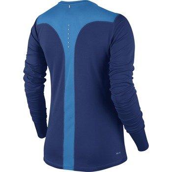 koszulka do biegania damska NIKE RACER LONG SLEEVE / 645445-457