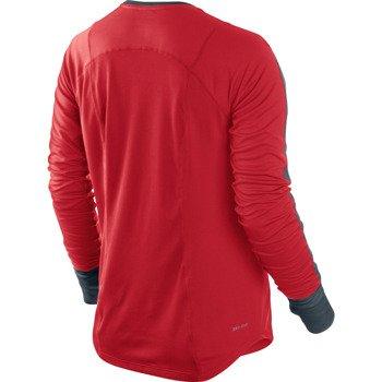 koszulka do biegania damska NIKE RACER LONGSLEEVE TOP / 520278-661