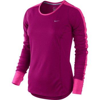 koszulka do biegania damska NIKE RACER LONGSLEEVE TOP / 520278-666