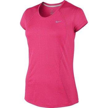 koszulka do biegania damska NIKE RACER SHORT SLEEVE / 645443-639