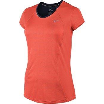 koszulka do biegania damska NIKE RACER SHORT SLEEVE / 645443-671