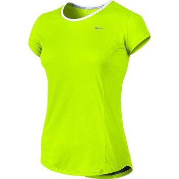 koszulka do biegania damska NIKE RACER SHORTSLEEVE TOP / 520276-702