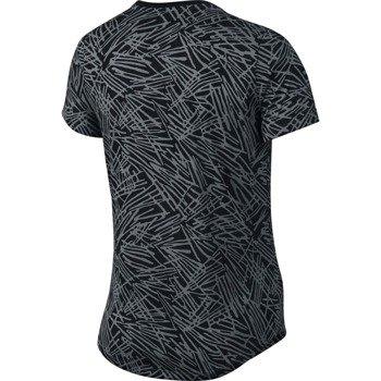 koszulka do biegania damska NIKE RUN PALM ALLOVER PRINTED TEE / 739545-065