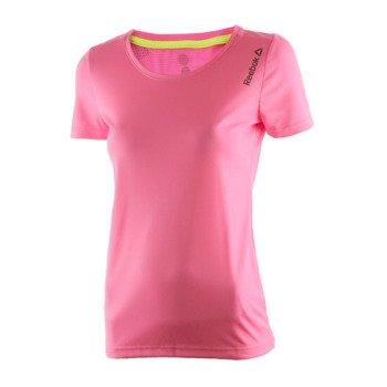 koszulka do biegania damska REEBOK RUNNING ESSENTIALS  SHORT SLEEVE TEE / AX9499