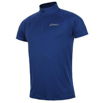 koszulka do biegania męska ASICS SHORTSLEEVE 1/2 ZIP TOP / 110409-8107