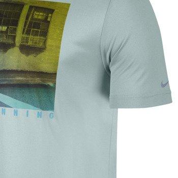 koszulka do biegania męska NIKE CHALLENGER 1 GRAPHIC TEE