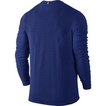 koszulka do biegania męska NIKE DRI-FIT CONTOUR LONGSLEEVE / 683521-455
