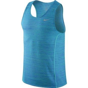 koszulka do biegania męska NIKE DRI-FIT COOL MILER SINGLET / 718346-418