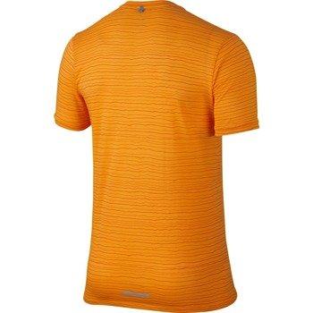 koszulka do biegania męska NIKE DRI-FIT COOL TAILWIND STRIPE SHORT SLEEVE  / 724809-868
