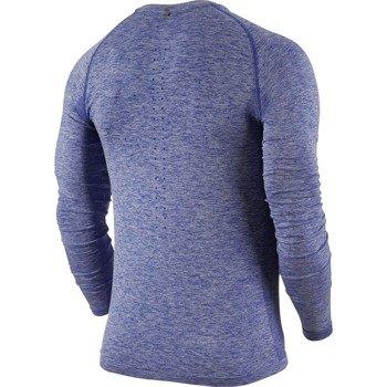 koszulka do biegania męska NIKE DRI-FIT KNIT LONG SLEEVE / 717760-457