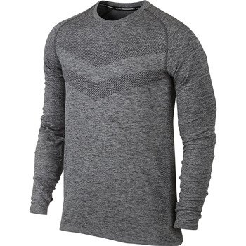 koszulka do biegania męska NIKE DRI-FIT KNIT LONGSLEEVE / 642124-021