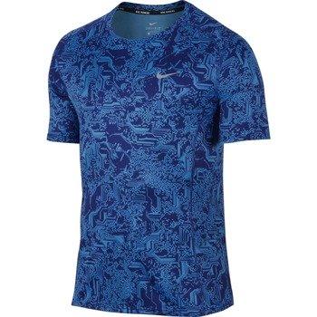 koszulka do biegania męska NIKE DRY MILER RUNNING TOP / 800313-455