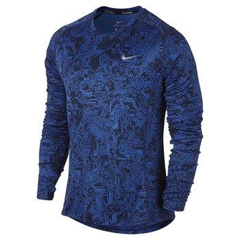 koszulka do biegania męska NIKE DRY MILER RUNNING TOP LONG SLEEVE / 807139-480