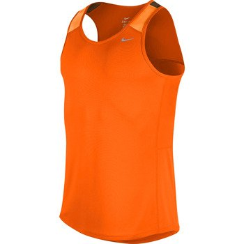 koszulka do biegania męska NIKE RACER SINGLET / 543229-861
