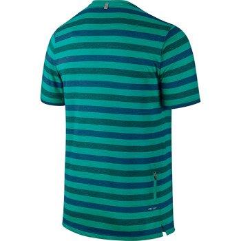 koszulka do biegania męska NIKE TOUCH TAILWIND SHORTSLEEVE STRIPED / 596202-383