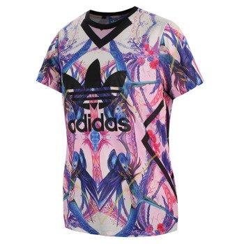 koszulka sportowa damska ADIDAS FLORERA LOGO TEE / AB1980