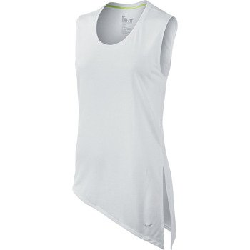 koszulka sportowa damska NIKE CLUB TIE TEE / 633447-100