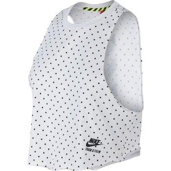 koszulka sportowa damska NIKE RU CROP TANK / 687937-100