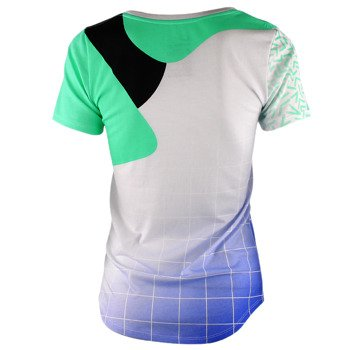 koszulka sportowa damska NIKE TEE SCOOP HUARACHE / 807583-100