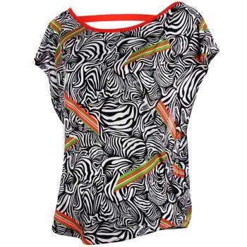 koszulka sportowa damska REEBOK DANCE PRINTED TOP