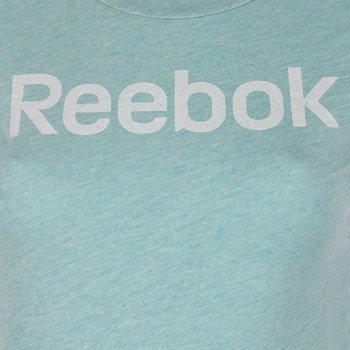 koszulka sportowa damska REEBOK ELEMENTS LOGO TEE / AA1237