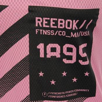 koszulka sportowa damska REEBOK WORKOUT READY GRAPHIC TANK / AJ3431