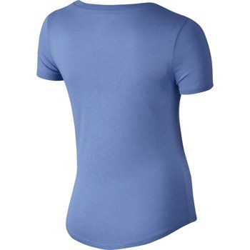 koszulka sportowa dziewczęca NIKE TRI BLEND SNEAKER LOVE TEE / 742125-486