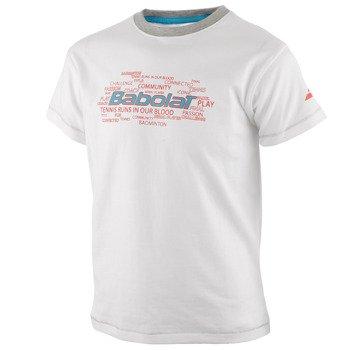 koszulka tenisowa chłopięca BABOLAT TEE CORE / 42F1582-101