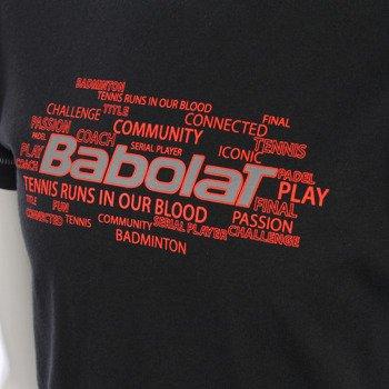 koszulka tenisowa chłopięca BABOLAT TEE CORE / 42F1582-115