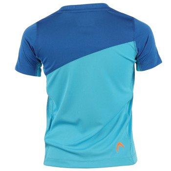 koszulka tenisowa chłopięca HEAD ARNE B T-SHIRT / 816235 TQBL