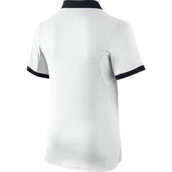 koszulka tenisowa chłopięca NIKE ADVANTAGE SOLID POLO  / 724435-100