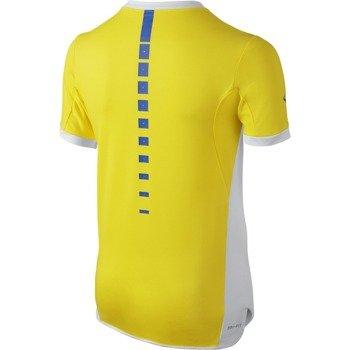 koszulka tenisowa chłopięca NIKE PREMIER RAFA CREW / 802145-741