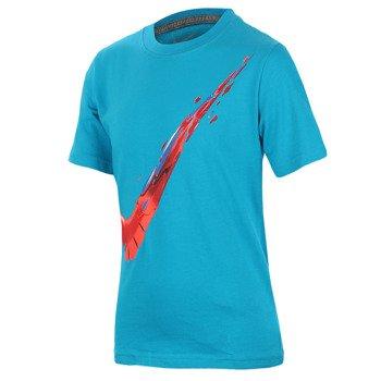 koszulka tenisowa chłopięca NIKE SWOOSH FREE CONS / 641830-407