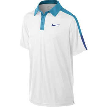 koszulka tenisowa chłopięca NIKE TEAM COURT POLO / 642071-100