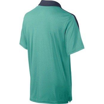 koszulka tenisowa chłopięca NIKE TEAM COURT POLO / 642071-405