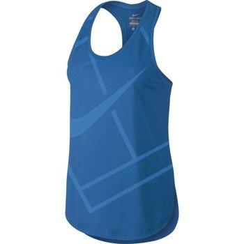 koszulka tenisowa damska NIKE BASELINE TANK / 728725-435
