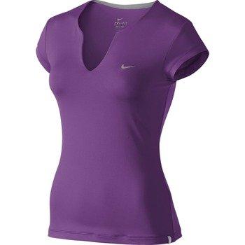 koszulka tenisowa damska NIKE PURE SHORTSLEEVE TOP / 425957-515