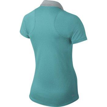 koszulka tenisowa damska NIKE SPHERE SHORTSLEEVE POLO / 599042-388