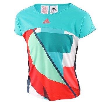 koszulka tenisowa dziewczęca ADIDAS ADIZERO TEE / AJ3267