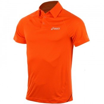 koszulka tenisowa męska ASICS MEN'S RESOLUTION POLO / 108413-0521
