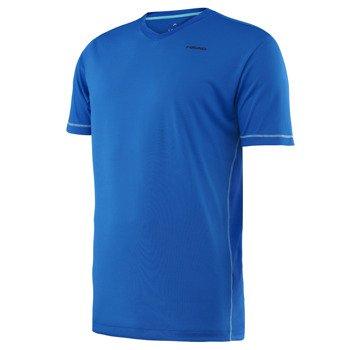 koszulka tenisowa męska HEAD VISION HASE V-NECK SHIRT / 811276 BL