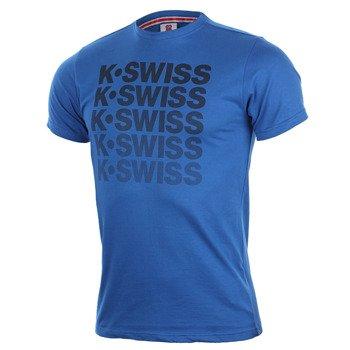 koszulka tenisowa męska K-SWISS SPELL OUT TEE / 101250-423