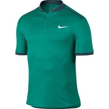 koszulka tenisowa męska NIKE ADVANTAGE POLO SOLID / 729384-351